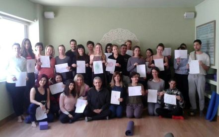 Sunday Community Class full of light!